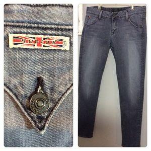 Hudson Jeans Collin Skinny Flap Pocket Sz 31